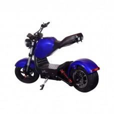 Электроскутер ElectroTown Citycoco Bike - синий