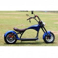 Электроскутер Citycoco Harley Chopper 2000W - синий
