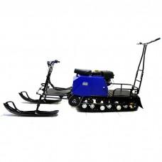 Мотобуксировщик  ЛИДЕР-2-3Т-15АП с лыжным модулем